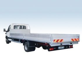 Platform tarpaulin bodies / tarpaulin bows  and aluminum side plates for truck chassis