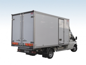 Fresh service bodies for temperatures from 0°C to +5°C