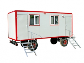Construction Box Trailers, Office Box Trailers, Toilet Box Trailers, Individual Room Units