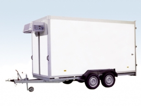 Refrigerated Trailers for temperatures from 0°C to -18°C