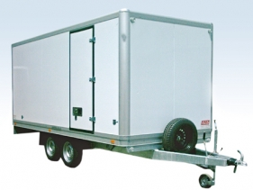 Fresh Service Box Trailers for temperatures from 0°C to +5°C