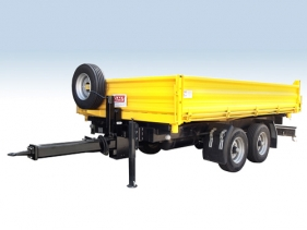 Construction Trailers/For transporting building equipment and machinery