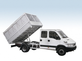 Tipper-truck bodies for truck chassis
